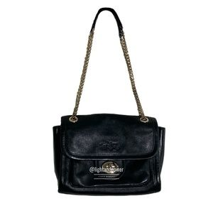 Coach Horse & Carriage Embossed Leather Bag EUC